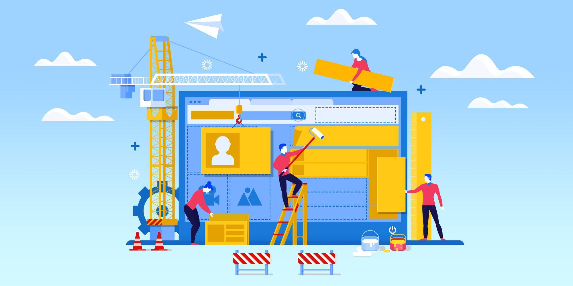 Создание сайта в конструкторе самостоятельно или заказать в веб-студии